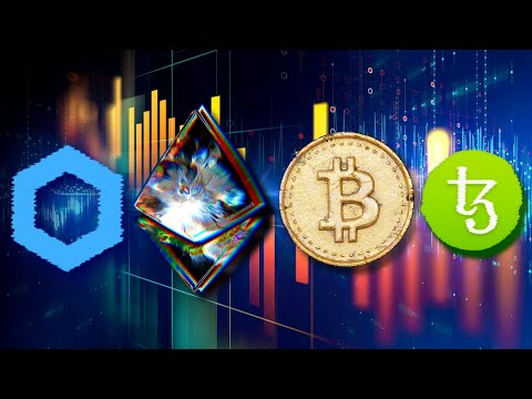 Bitcoin Trading At $8,700 WHAT NEXT? Ethereum 2.0 DeFi Revolution | Chainlink And Tezos Price