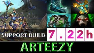 Arteezy [Chen] The Support Utility Build NA Ranked ► Dota 2 7.22h