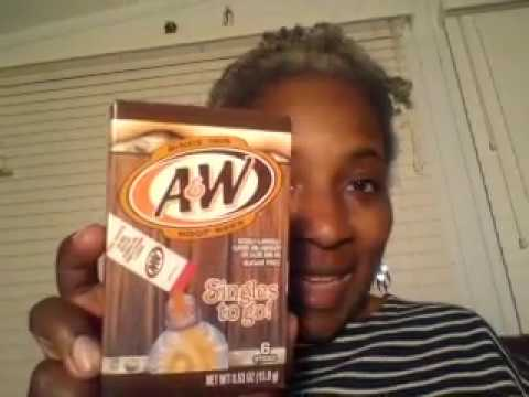A&W Root Beer Singles To Go! Review
