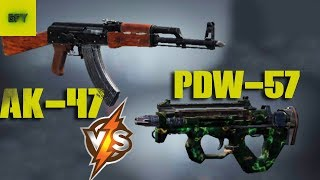 Call of Duty: Mobile Ep.4 AK-47 vs PDW-57 - Android Gameplay HD