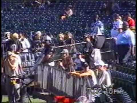Oakland Raiders Vs Detroit Lions Pre-season 2000 1 of 3