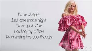 Bebe Rexha - Pillow (Lyrics)