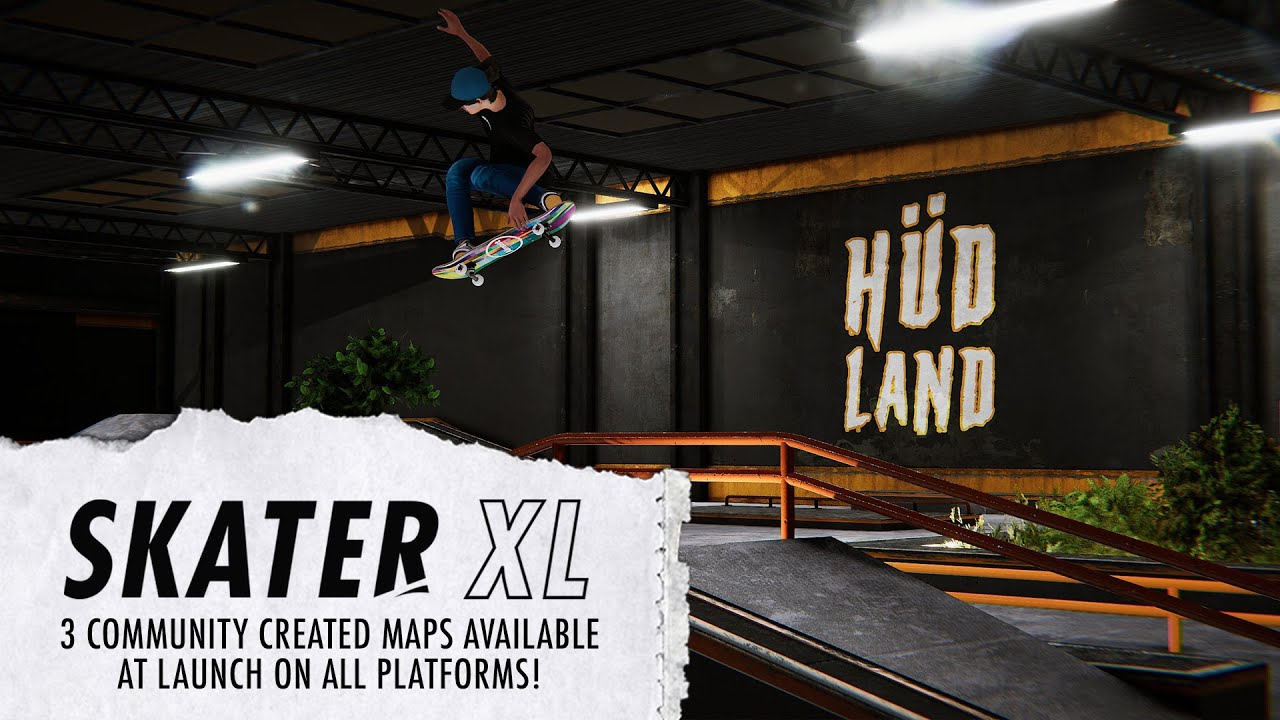 Skater XL - Three Community Created Maps Available On All Platforms!