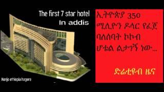 DireTube News - Addis' first seven star hotel