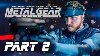 METAL GEAR SOLID (PS1) PART 2 || Blind Playthrough 🔴 LIVE