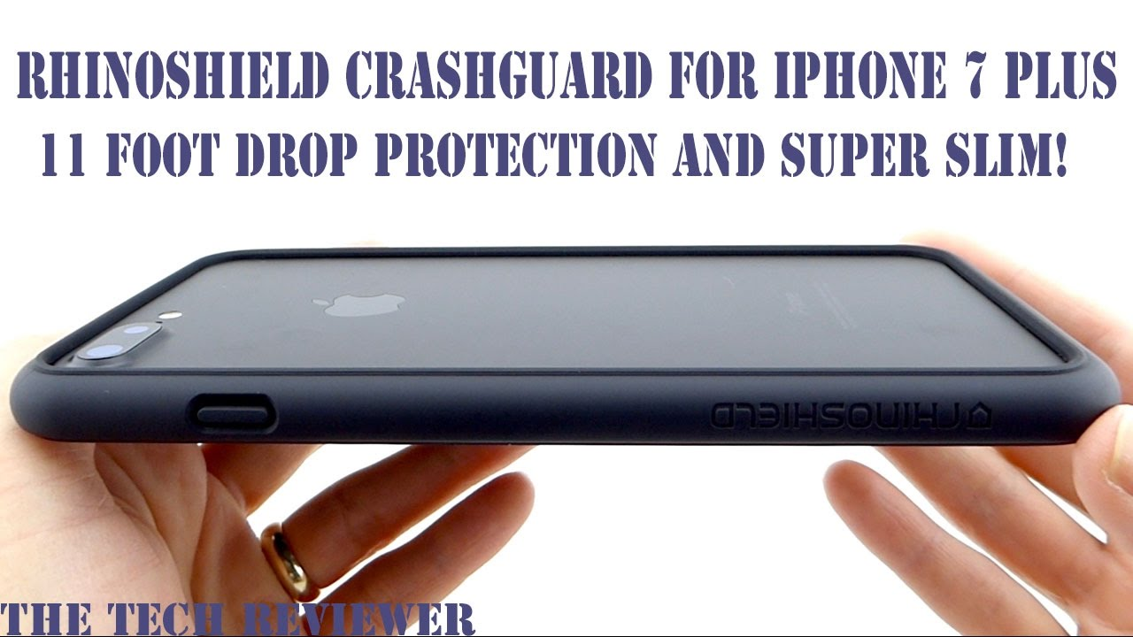 brand new f2e70 9ba0d A Slim Bumper with 11 Foot Drop Protection?? Check out the RhinoShield  CrashGuard for iPhone 7 Plus!