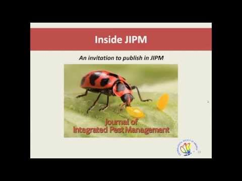 Inside the Journal of Integrated Pest Management
