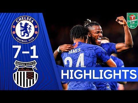 Chelsea 7-1 Grimsby Town | Hudson-Odoi, James and Barkley Score In 8 Goal Thriller 🔥| Highlights