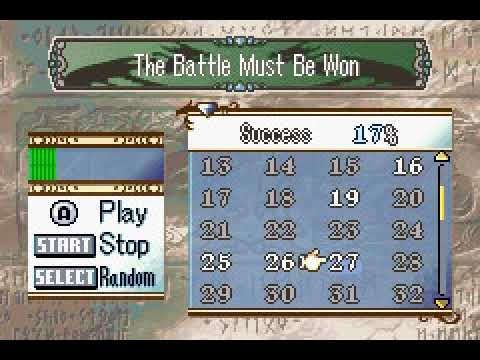 Fateful Showdown from Fire Emblem: Genealogy of the Holy War - GBA Music Insertion