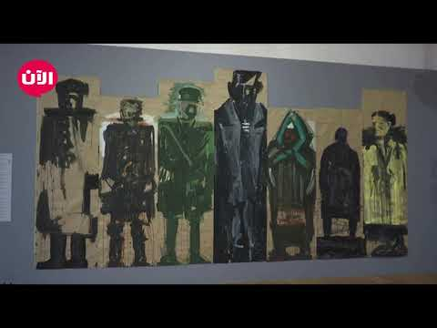 فنان روسي يرسم باستخدام النفط الخام  - 16:55-2019 / 9 / 18