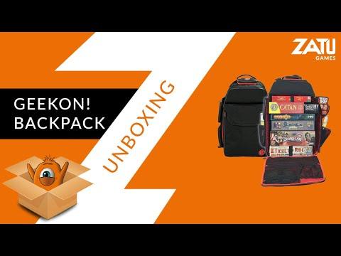 GeekOn! Ultimate Board Game BackPack - First Impressions