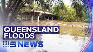 Mega storm causes flooding across Queensland | Nine News Australia