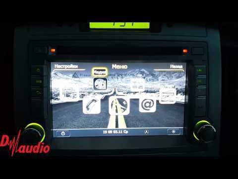 Штатное головное устройство Hyundai H1 Starex Winca C233