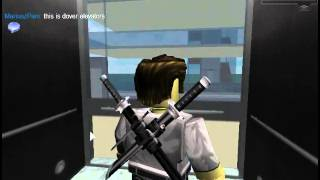 Tour of elevators in MPXD Complex on ROBLOX.
