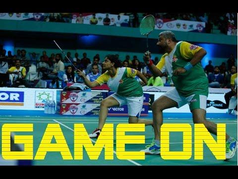 Kerala Royals #GameOn Trailer - Matches, Practice, Celebrity Badminton League