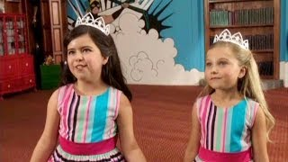 Take a look at this exclusive clip of Sophia Grace & Rosie's new fi...