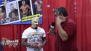 Rey Mysterio  Jr. is a fan of Daniel Bryan and if he is open to work with him