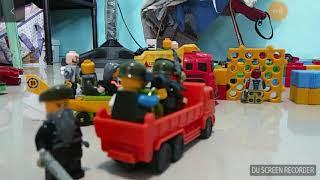 The Lego zombie apocalypse  w/mixed toys Ep.2