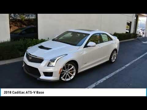 2018 Cadillac ATS-V Valencia CA 2181074 - YouTube