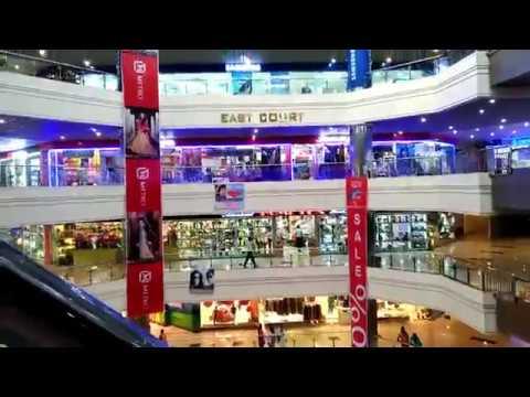 Jamuna Future Park Shopping Mall - Walking Around