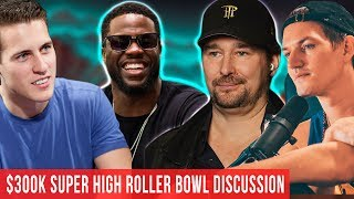$300k Super High Roller Bowl Day 1 Discussion W/ Mike McDonald