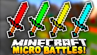 Minecraft - MICRO BATTLES! #5 - w/ Preston & Kenny