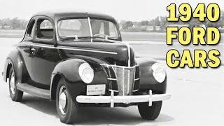 1940 Ford Cars & New Improvements | Ford Motor Co. Promotional Film | ca. 1940