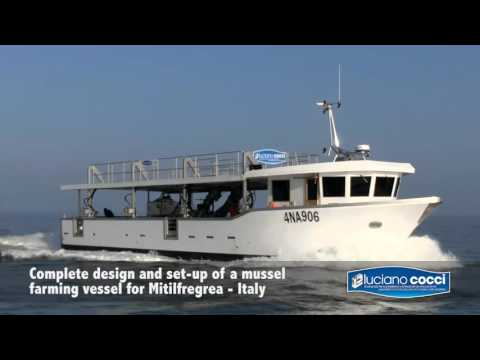 Cocci Luciano Srl - The most technologically advanced mussel farming vessel in Italy