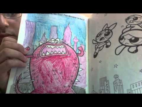 my powerpuff girls coloring book - Color Books For Girls