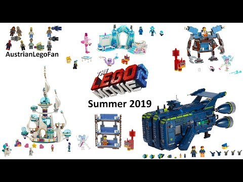 The Lego Movie 2 Compilation of all Summer Sets 2019