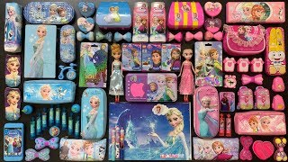 Special Series #PRINCESS Frozen || PINK and BLUE || Mixing Random Things Into Fluffy Slime