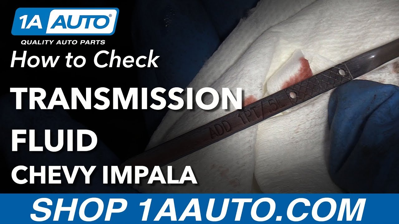 small resolution of how to check transmission fluid level 00 05 chevy impala