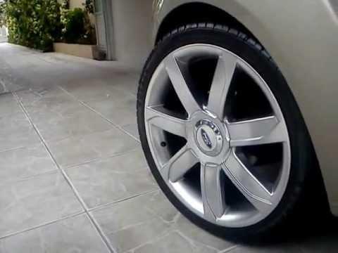 Fiesta Sedan Roda 205x40 Aro 17 Quot Youtube