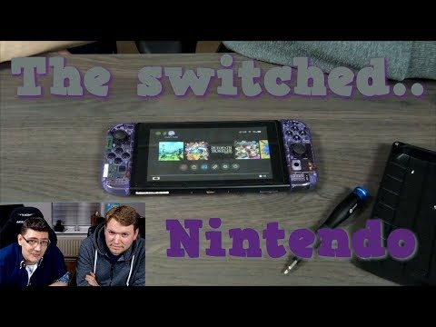Nintendo Switch Case mod shell replacement (Cosmic Purple)