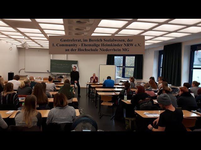 Gastreferat an der Hochschule Niederrhein // Sozialwesen Teil 2/3 21.11.2017