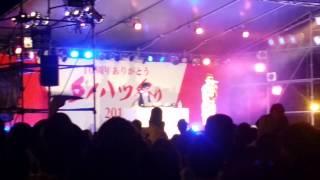 8月30日ダイハツ10周年ダイハツ祭りでのゲストHilcrhymeのライブ。