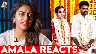 Amala Paul Reacts to Ex-husband AL Vijay's Marriage I Latest Tamil Cinema News