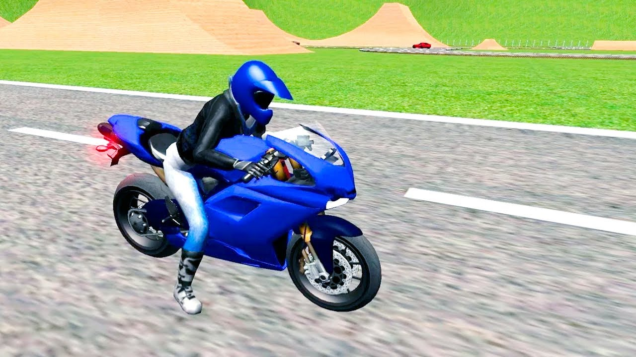 Bike racing games - Extreme Motorbike Driving 3D - Gameplay Android free  games