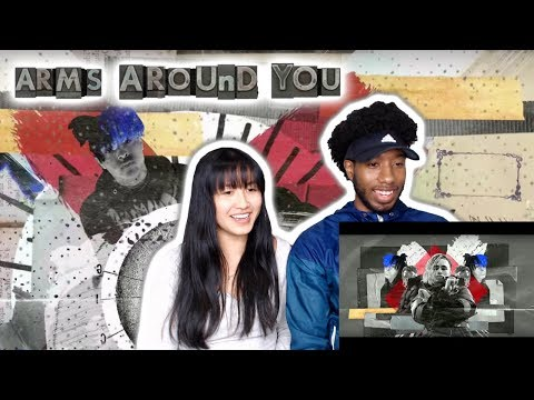XXXTENTACION & LIL PUMP FT. MALUMA & SWAE LEE - ARMS AROUND YOU | MUSIC VIDEO REACTION