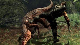 Turok охота на динозавров. Прохождение с комментариями ч2