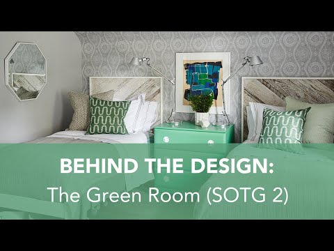 Behind the Design: The Green Room (Sarah Off The Grid 2)