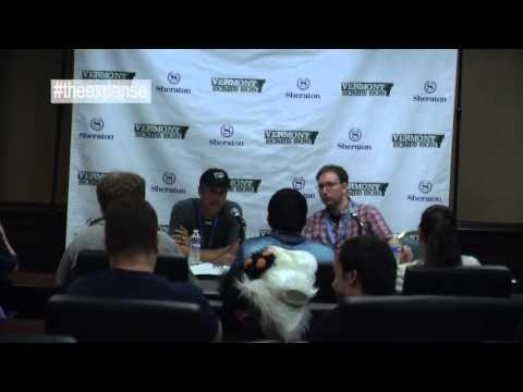 Vermont Comic Con 2015  Hawk Ostby Panel  FULL