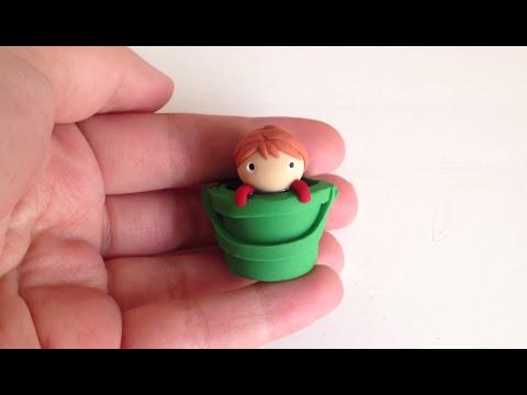 Ponyo in a Bucket DIY