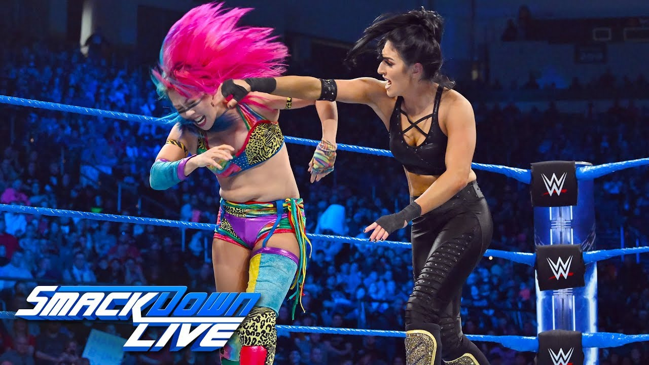Asuka vs. Sonya Deville: SmackDown LIVE, March 12, 2019