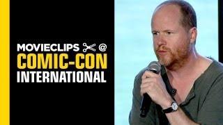 Comic-Con: Joss Whedon Highlights Conversation - Nerd HQ (2013) HD - Nathan Fillion