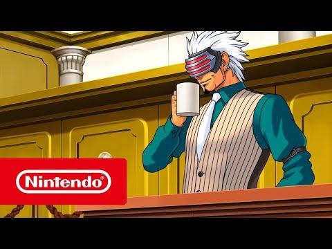 Phoenix Wright: Ace Attorney Trilogy - Launch Trailer (Nintendo Switch)
