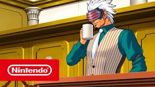 Phoenix Wright: Ace Attorney Trilogy - Launch Trailer (Nintendo Switch)