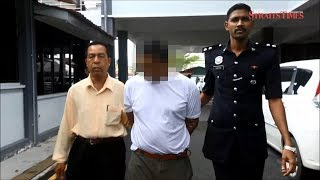 18 years' jail, 10 strokes for father who raped his 10-year-old daughter