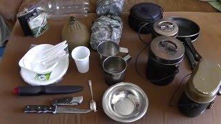 Посуда для похода: котелки, фляжки и т.д. Обзор.