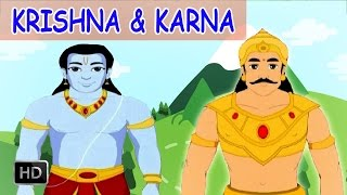 Krishna & Karna Stories - Short Stories from Mahabharata - Animated Stories for Kids